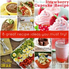 8 Great Recipe Ideas!