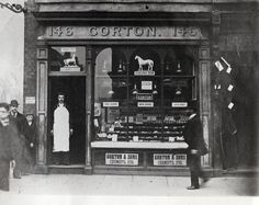 Mr Gorton's chemist, 146 Whitechapel Rd, London, 1900