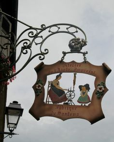 Kaysersberg, Alsace Pub Signs, Shop Signs, Alsace, Street Signs, Street Art, Storefront Signage, Blade Sign, Europe Street, French Signs