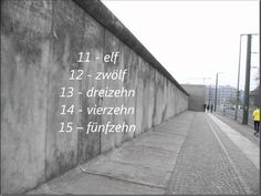 The German numbers from 1 - 100 Numbers 1 100, The 100, German, Study, Deutsch, Studio, German Language, Investigations, Studying
