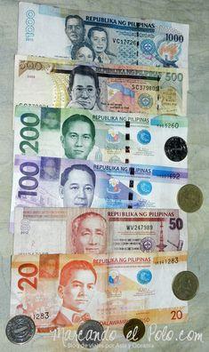 Presupuesto para viajar a Filipinas: peso