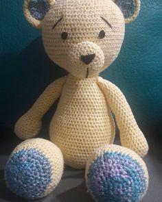 "8 Me gusta, 0 comentarios - AMIGURUMI CROCHET (@amigurumicrochet96) en Instagram: ""❤❤❤Dulce Osito...❤❤❤ #amigurimilove  #amigurumis  #crochê  #crocheterapia💖  #bebes  #bucaramanga…"" Teddy Bear, Toys, Crochet, Animals, Instagram, Amigurumi, Bucaramanga, Activity Toys, Animales"