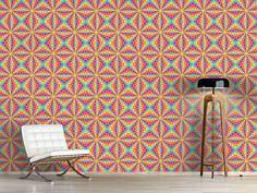 Design #Tapete Farbiges Kaleidoskop