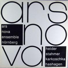 Ars Nova Ensemble Nürnberg - spielt Heider, Stahmer, Karkoschka, Hashagen - Music & Arts. De
