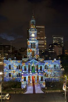 Christmas lights in the heart of the Sydney CBD!