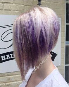 Funky Lilac Hair Silver Funky Lilac Hair Silver 23 Of The Most Stunning Purple Hair Color Ideas with regard to ucwords] Silver Purple Hair, Short Purple Hair, Light Purple Hair, Hair Color Purple, Plum Purple, Turquoise Hair, Silver Blonde, Bright Hair, Beige Color