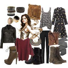 Aria Montgomery Clothes love it!!