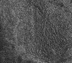 This synthetic-aperture radar image was obtained by NASA's Cassini spacecraft during its T-120 pass over Titan's southern latitudes on June 7, 2016.