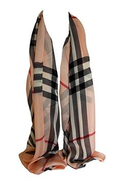 Chiffon Style Colourful Check Print Scarf Stole Wrap Sarong Head Scarf (Pink) Bullahshah Sarong, Chiffon, Check Printing, Wrap, Womens Clothing Stores, S Star, Plaid Scarf, Amazing Photography, Best Sellers