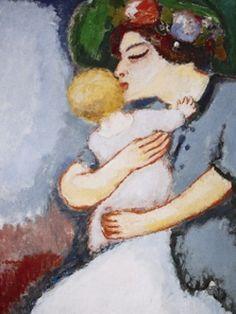 Kees Van Dongen - Ma gosse et sa mère, 1907