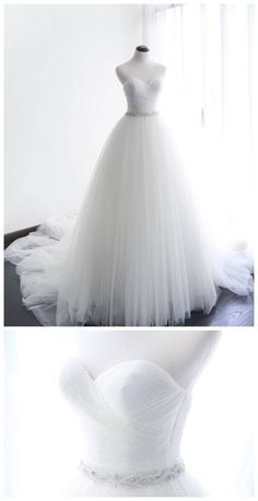 Wedding dresses lace tight and wedding dresses vintage a line Cute Wedding Dress, Sweetheart Wedding Dress, Beautiful Prom Dresses, Long Wedding Dresses, Tulle Wedding, Bridal Dresses, Wedding Gowns, Look, Indie Brands