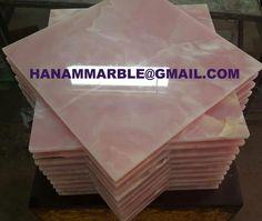 Pink Onyx Tiles