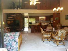 Open Concept Living Area From Patio/Lanai