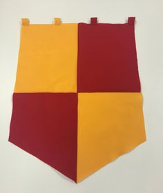 Gryffindor banner. Harry Potter themed decor. Ideal for parties!