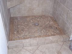 Shower floor idea