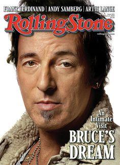 Rolling Stone Cover Volume Bruce Springsteen #BruceSpringsteen #PepsiCenter #Denver #AskaTicket
