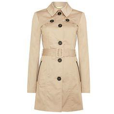 Vero Moda belted trench coat, $62 houseoffraser.co.uk - Photo: Courtesy of houseoffraser.co.uk