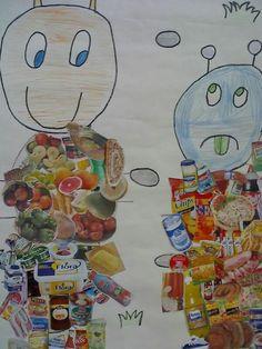 Preschool Art, Kindergarten Activities, Toddler Activities, Health Teacher, School Health, Crafts For Kids To Make, Art For Kids, Kawaii Faces, Nutrition Activities