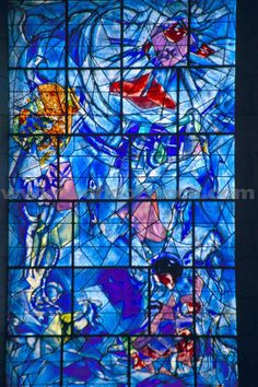 Marc Chagall, Marc Chagall Museum, Nice, France...loved seeing his work in person.