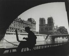 Le Quai St Michel  Paris circa 1940  Brassaï