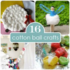 Boredom Buster: 16 Fun & Easy Cotton Ball Crafts | Spoonful