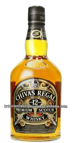 Chivas Regal whisky 12 years old $15.7
