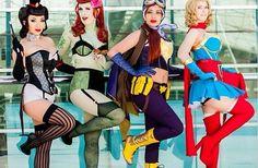 dc bombshells cosplay - Google Search