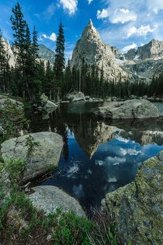 Lone Eagle Peak, Indian Peak Wilderness, Colorado