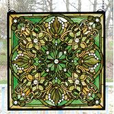 Found it at Wayfair - Victorian Lace Knotwork Stained Glass Window