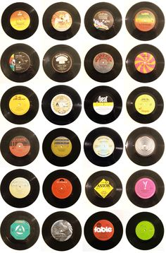 #Records #vinyl #recordpatterns http://www.pinterest.com/TheHitman14/for-the-record/