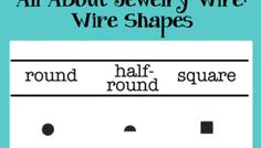Jewelry wire gauge size chart awg american wire gauge abc all about jewelry wire wire shapes greentooth Gallery