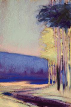 ☼ Painterly Landscape Escape ☼ landscape painting by Casey Klahn