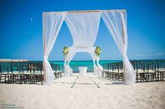 Beach wedding at #NowJade! #weddingwednesday #inspiration