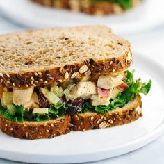 Healthy Chicken Salad Sandwich Recipe With Greek Healthy Chicken Salad Recipes Food Network Healthy . Healthy Greek Yogurt Chicken Salad Without Mayo Food . Home and Family Yogurt Curry Chicken, Chicken Curry Salad, Chicken Salad Recipes, Healthy Salad Recipes, Healthy Snacks, Recipe Chicken, Healthy Smoothies, Soup Recipes, Egg Salad Sandwiches