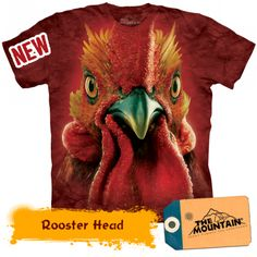Rooster Head