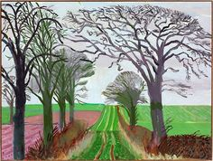 david hockney Yorkshire paintings - Google Search