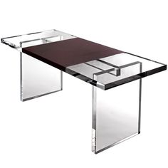 Maximize Your Space With Acrylic Furniture - desk for office!