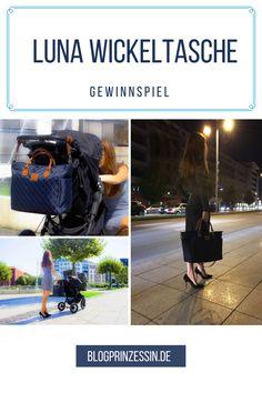 """GEWINNSPIEL: Diese stylische Wickeltasche von Kürbis Wickeltaschen könnt ihr heute auf dem Blog gewinnen! Nie wieder schämen für eine Tasche im """"Mama 2016"""" Design mit Märchenaufdruck. http://blogprinzessin.de/2016/10/03/gewinnt-eine-super-stylische-wickeltasche/ #werbung"""