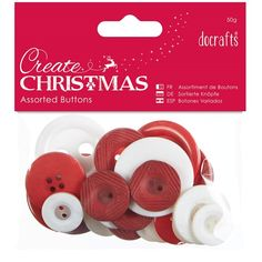 Buy Docrafts Create Christmas Nordic Buttons, Assorted, from our Buttons range at John Lewis & Partners. Free Delivery on orders over Christmas Crafts, Christmas Ornaments, Decoupage, Place Card Holders, Seasons, Create, Holiday Decor, Buttons, Fimo