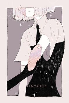 houseki no kuni Aesthetic Anime, Aesthetic Art, Character Art, Character Design, Pixiv Fantasia, Matou, Goth Art, Kawaii Anime, Art Inspo