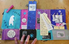 that artist woman: How to make File Folder Books