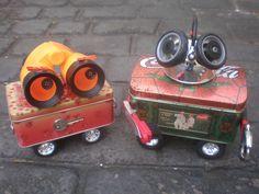 Recycling Art  #Sculptures, #Trash