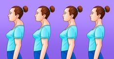 Posture – Upper Crossed Syndrome Upper Crossed Syndrome is a descriptive postural term coined by Dr. It is associated with other postural types such as Lower Crossed Syndrome and Layered Syndrome. Neck Hump, Position Pour Dormir, Posture Exercises, Kyphosis Exercises, Workout Exercises, Stretches, Healthy Holistic Living, Perfect Posture, Posture Correction
