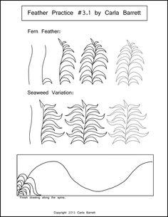 Fern Feather Practice by Carla Barrett
