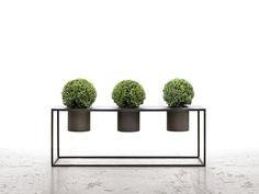 Garten Couch- Blumenkasten aus Metall RIVIERA Kollektion Riviera by DE CASTELLI…