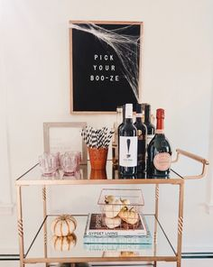 """Outstanding """"gold bar cart decor"""" detail is offered on our website."""