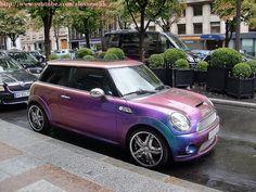 I want this! Mini Cooper... no more $$$$$ at the gas pump