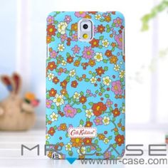 Adorn your Samsung Galaxy Note 3 with our Cath Kidston case for Samsung Galaxy Note 3 and keep it safe from anything nasty in this hardwearing Cath Kidston case. It came with a smooth surface and can protect your new Samsung Galaxy Note 3 very well. The pretty design will make it easy to spot in your handbag and save you from missing any of those important calls!