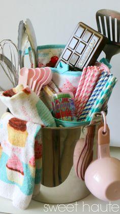 Homemade Baking DIY Gift Basket idea- SWEET HAUTE