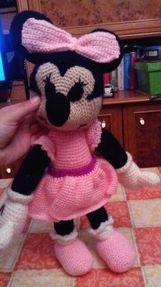 Patron Amigurumi Baby Minnie : PATRONES AMIGURUMIS GRATIS: PATRON MAQUINA DE COSER ...